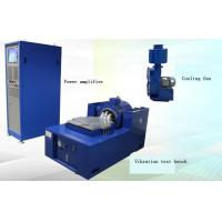 China Audio Video Information Electric Vibration Test System With Power Amplifier , Controller And Cooling Fan on sale