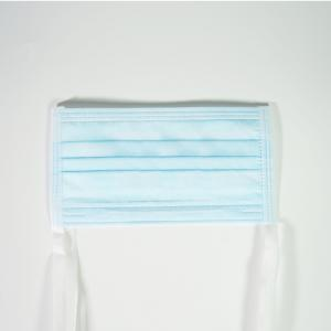 China Class I 3 Ply Non Sterile Tie - On Face Mask on sale