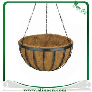 China Decorative Metal Hanging Basket Planters on sale