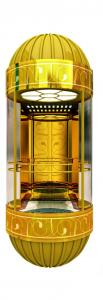 China Safe delfar observation elevator with cheap price on sale