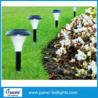 China 36cm White Garden Solar Lights Street Lamp With Sensor Easy Maintenance on sale