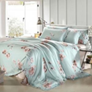 Quality Customized Pieces Home Bedroom Bedding Sets , Flower Printed Bedding Sets for sale