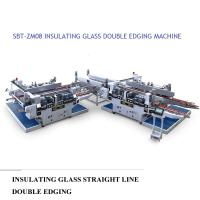 Insulating Glass Straight Line Glass Double Edger Machine High Performance