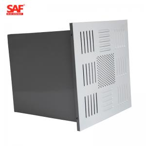 China Ceiling Terminal Hepa Filter Terminal Box , Clean Room Hepa Filter Housing on sale