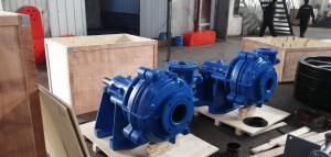 China 6 / 4 DAH Hard Metal Slurry Pump Bare Shaft Pump with Max Flowrate 360Cu on sale