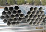 High Deformability Galvanized Round Pipe Zinc Coating For Liquid Transmission