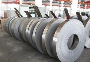 China SPCC-1B Cold Rolled Coil Steel , 1500mm Max Width Cold Rolled Steel Strip on sale