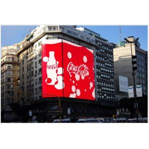China RGB HD Outdoor Synchronous Or Asynchronous P10 Led Advertising Displays CE certified on sale