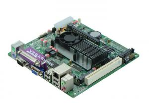 China Onboard Intel® Atom D425 Processor  MINI ITX Industrial Motherboard Support VGA / LVDS on sale