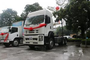 China ISUZU Prime Mover 10 Wheeler Tractor Head , 40T 450HP Tractor Head Trailer on sale