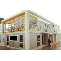 China Innovative Unique Container Warehouse Group With Kitchen For Construction Company on sale