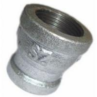 China galvanized malleable iron pipe fitting-socket reducing with npt thread on sale