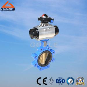 China Lug Type Pneumatic Butterfly Valve (LD671X) on sale