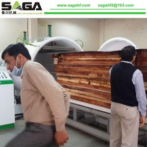 China Oak Wood Drying Machine Timber Dryer Vacuum Chamber For Drying From SAGA on sale