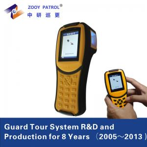 China 2G 3G Real Time Security Patrol Logs Scanner Guard Clocking System on sale