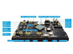 China TF Sim Card Embedded RK3288 Board Slot Multi USB Host Ethernet RJ45 Port on sale