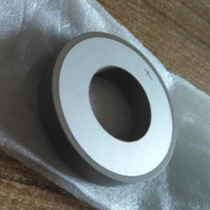 China Piezo Ceramics Ring Shape Material P4/P5/P8 As Customer's Requests on sale