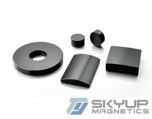 China Strong sintered permanent rare earth neodymium magnet for motor,certificated by ,ISO14001,CE,SGS on sale