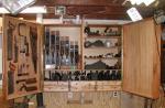 Шкаф инструмента с 2 дверями WG-07