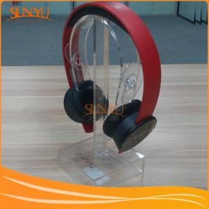 China Bulk Purchase Display Clear Acrylic Headset Display on sale
