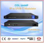 DIgital  wireless terrestrial 512 IP channels Mux  to 8CH  DVB-T modulator COL5608P