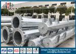 220KV Q355 40-60FT Octagonal Metal Power Pole With Hot - Dip Galvanized