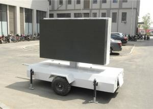 China Full Color P10 trailer mounted led screen Display / led trailer sign on sale