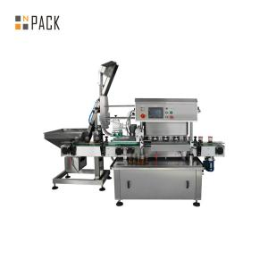 China Glass Bottle Bottle Capping Machine Twist Off Cap Vacuum Capping Machine on sale
