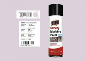 China Light Violet Marking Spray Paint , Survey Marking Paint With SGS Certificate on sale