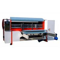 China NC Auto Corrugated Rotary Die Cutting Machine , Lead Edge Feeding Rotary Die Cutter on sale