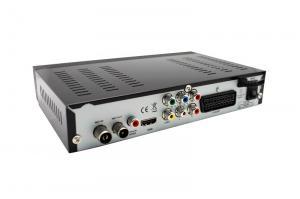 China HD MPEG4 FTA DVB-T2 Digital TV Receiver Digital Set Top Box w/ Scart / PVR / HDMI / YPbPr -  Black on sale