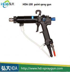 China HDA electrostatic liquid paint spray gun manual spraying gun liquid coating system manufacturer on sale