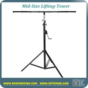 China 4.2M Single Tubes Stand Truss Crank Stands Portable Stage Lighting Stands on sale