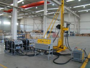 China Portable High-speed Hydraulic Drilling Rig Machine With BS NS HS Rod CSD500C on sale