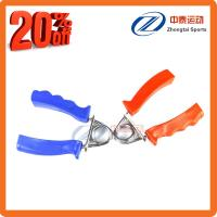 China Factory Supply Fitness equipment spring hand grip with plastic handles on sale