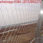 flexible wire mesh netting/security wire rope/ferrule mesh/steel cable for sale/flexible mesh netting/ rope handrail