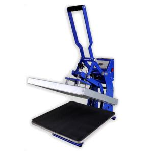China Best sell in USA 15*15inch Black color Semi Automatic Open Heat Press Machine, on sale