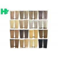 Synthetic Blonde Hair Extensions Korean Straight Human Hair Weave
