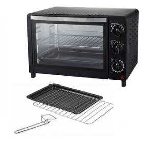 China 18L oven, toaster oven, EMOV79, 1200W, With timer, double glass door on sale