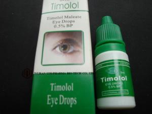 China 0.5% Timolol Eye Drops For Open Angle Glaucoma , Ear Pain Relief Drops 2 Years Shelf Time on sale
