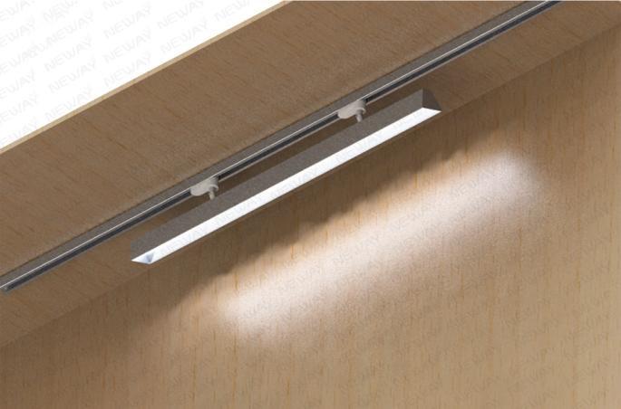 48w Modern Linear Track Lighting Rail