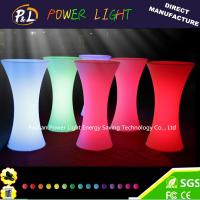 China LED Bar Event Party Furniture LED Cocktail Bar Table on sale