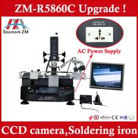 Updated bga reballing equipment ZM-R5860C smd repair station with camera and LCD