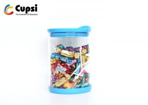China Food Storage Airtight Glass Canisters With Silicone Lid Protective Base Eco Friendly on sale