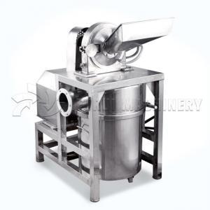 China Coffee Turmeric Nut Grinder Machine / Rice Husk Pulverizer 10-200 Fineness on sale