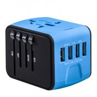 China USB AC/DC Adapter 4 USB Power Adapter Electric Plug Adapter on sale