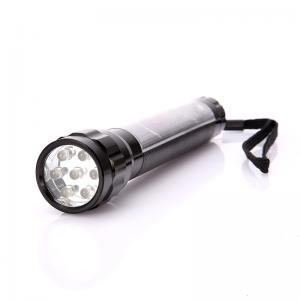 China 600mA Battery Portable Solar Powered Flashlight For Outdoor Camping on sale