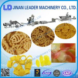 China Small slanty shell chips 3D pellet extruding and frying automatic food machine on sale