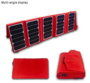 China 65W Portable Solar Panel Charger For Laptop ,  Intelligent Solar Charger on sale