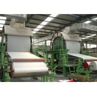 China 5t/D Good Quality Waste Paper Recycling Rice Straw Toilet and Tissue Paper Machine on sale